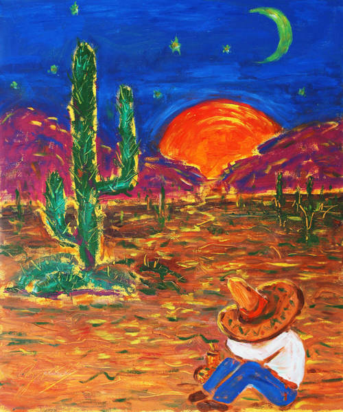 Mexico Impression IIi Art Print