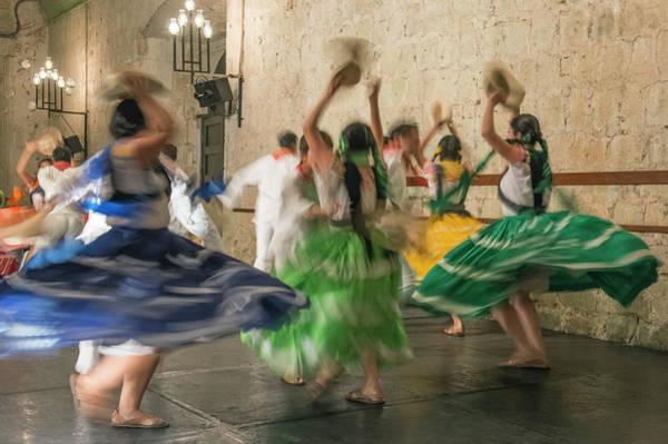 Folk Dances Photograph - Mexico, Oaxaca, Mexican Folk Dance by Rob Tilley