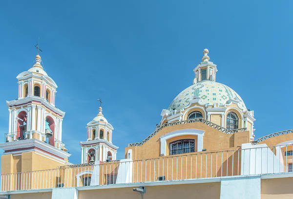 Senora Photograph - Mexico, Puebla, Cholula, Santuario De by Rob Tilley