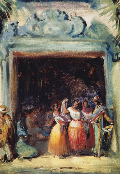 Latina Painting - Mexico Villagers, 1833 by Granger