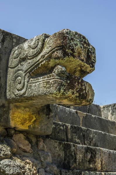 Chichen Itza Photograph - Mexico, Yucatan, Chichen Itza, Unesco by Jerry Ginsberg