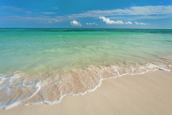 Yucatan Wall Art - Photograph - Mexico, Yucatan, Sandy Beach And by Tetra Images