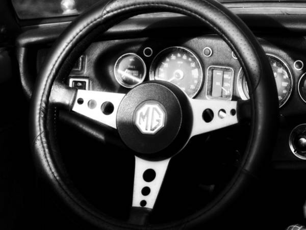 Photograph - Mg Dashboard by Denise Beverly