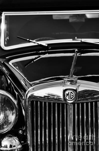 Photograph - Mg Va Tickford Drophead Coupe by Tim Gainey