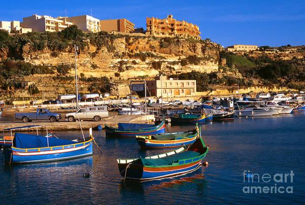 Photograph - Mgarr Harbor Gozo by Thomas R Fletcher