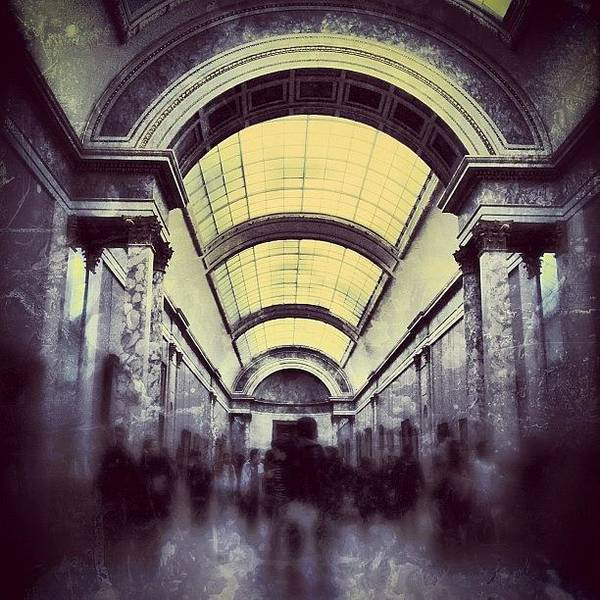 Buildings Wall Art - Photograph - #mgmarts #paris #france #europe #louvre by Marianna Mills