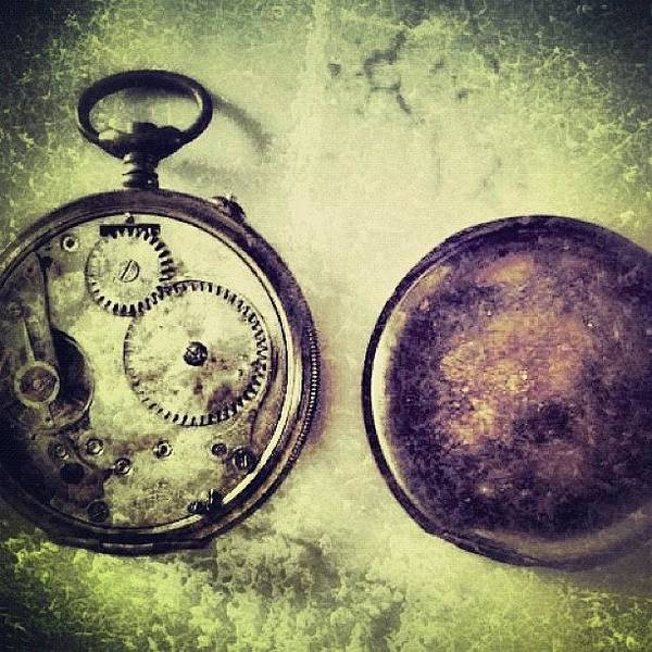 Wall Art - Photograph - #mgmarts #watch #time #bestogram by Marianna Mills