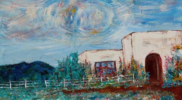 Wall Art - Painting - Mi Casa by Esta Bain