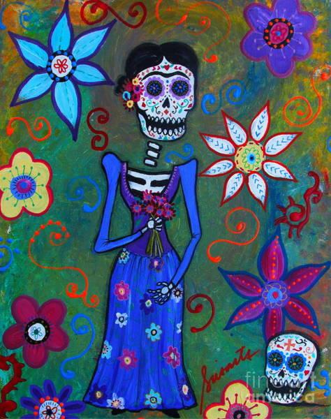 Painting - Mi Hermosa Frida by Pristine Cartera Turkus