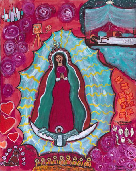 Mi Mama De Medicina Art Print by Susan Risse