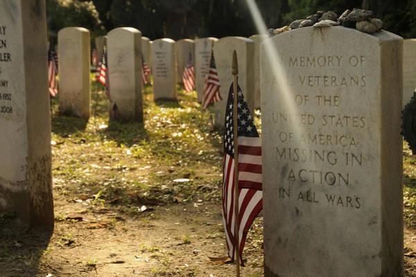 Photograph - Mia Memorial Gravestone by Bradford Martin