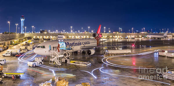 Photograph - Miami Airport by Hans- Juergen Leschmann