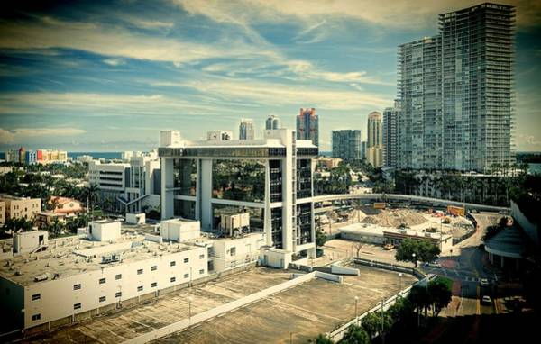 Oceanfront Photograph - Miami Beach-0152 by Rudy Umans