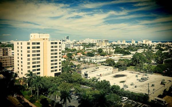 Oceanfront Photograph - Miami Beach-0153 by Rudy Umans