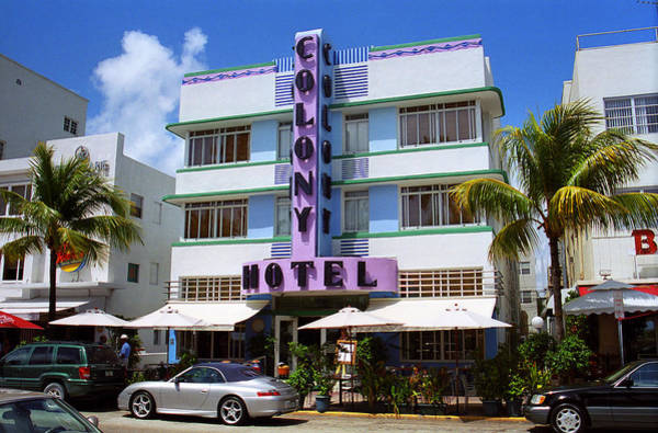 Photograph - Miami Beach - Art Deco 37 by Frank Romeo