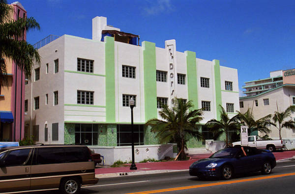 Photograph - Miami Beach - Art Deco 57 by Frank Romeo