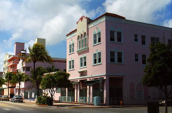 Photograph - Miami Beach - Art Deco 60 by Frank Romeo