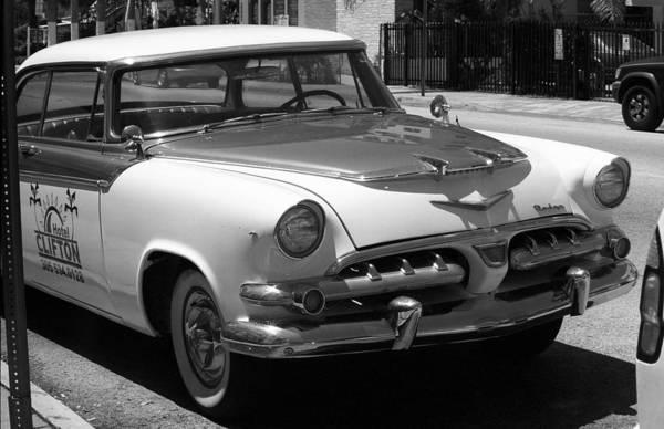 Photograph - Miami Beach Classic Car 4 by Frank Romeo