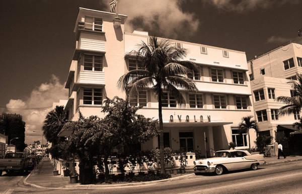 Photograph - Miami Beach Classic Car 8 by Frank Romeo