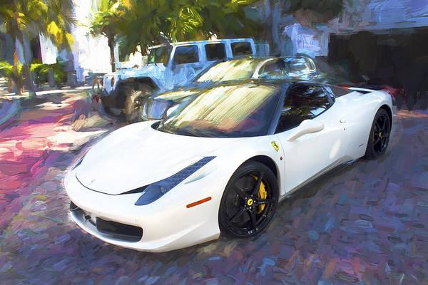 Photograph - Ferrari Miami Beach Series 14 by Carlos Diaz