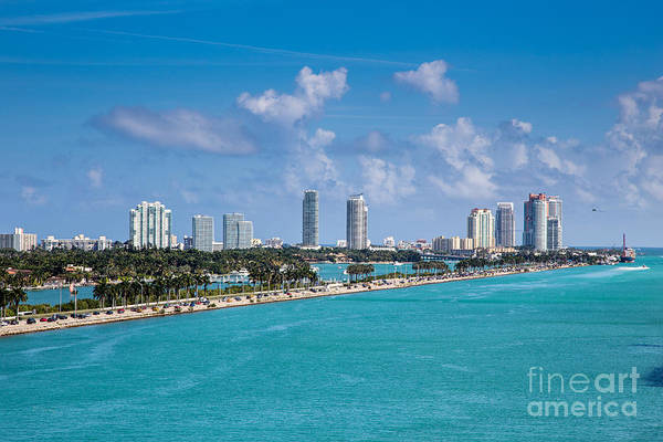 The Mac Wall Art - Photograph - Miami Beach Skyline by Rene Triay Photography