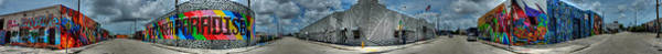 Photograph - Miami - Design District Pano 001 by Lance Vaughn
