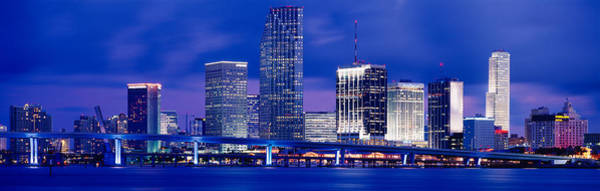 Biscayne Wall Art - Photograph - Miami, Florida, Usa by Panoramic Images