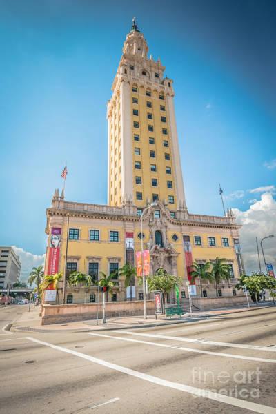 Wall Art - Photograph - Miami Freedom Tower 4 - Miami - Florida by Ian Monk