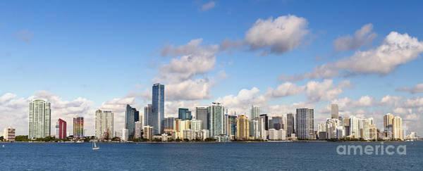 Pano Wall Art - Photograph - Miami Heat by Evelina Kremsdorf