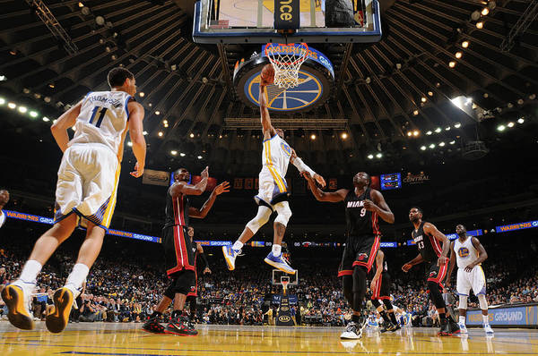 Oracle Team Usa Photograph - Miami Heat V Golden State Warriors by Noah Graham