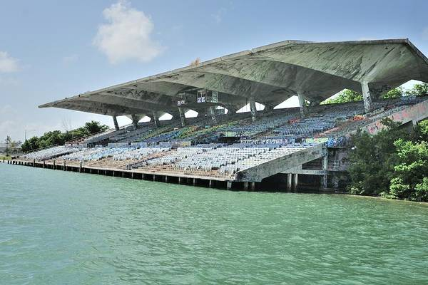 Photograph - Miami Marine Stadium-abandoned by Bradford Martin
