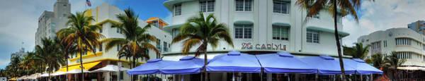 Photograph - Miami - Ocean Drive Pano 002 by Lance Vaughn