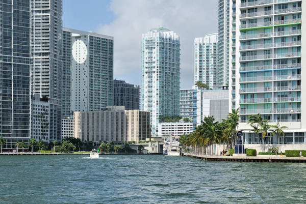 Photograph - Miami River Bayfront by Bradford Martin