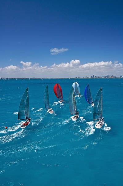 Photograph - Miami Skyline by Steven Lapkin