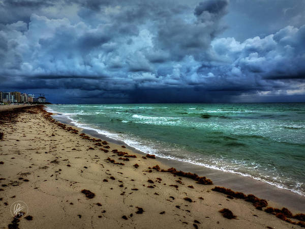 Stormcloud Photograph - Miami - South Beach 007 by Lance Vaughn