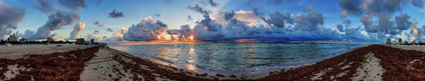 Photograph - Miami - South Beach Pano 003 by Lance Vaughn