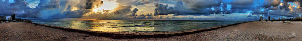 Photograph - Miami - South Beach Pano 004 by Lance Vaughn