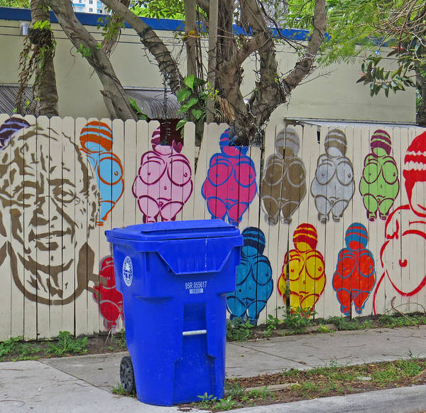 Photograph - Miami Street Art by Dart and Suze Humeston