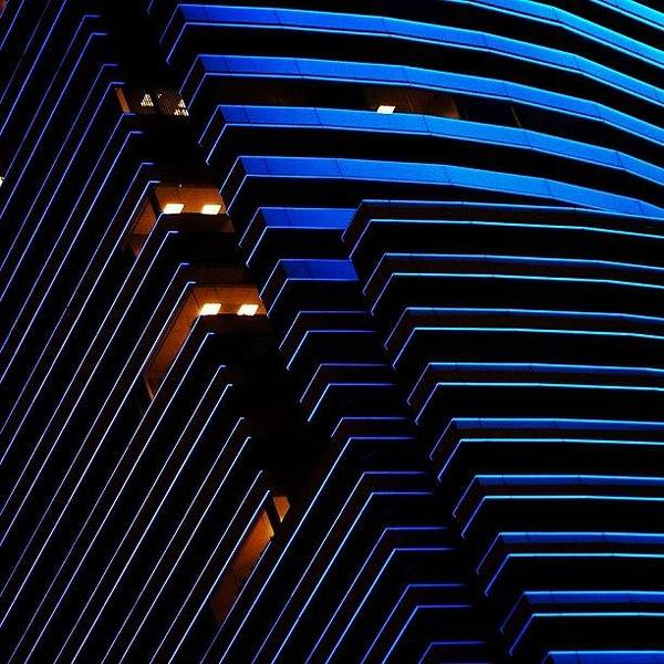 Wall Art - Photograph - Miami Tower - Miami ( Details ) by Joel Lopez