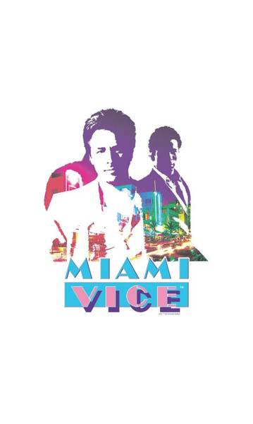 Wall Art - Digital Art - Miami Vice - Crockett And Tubbs by Brand A