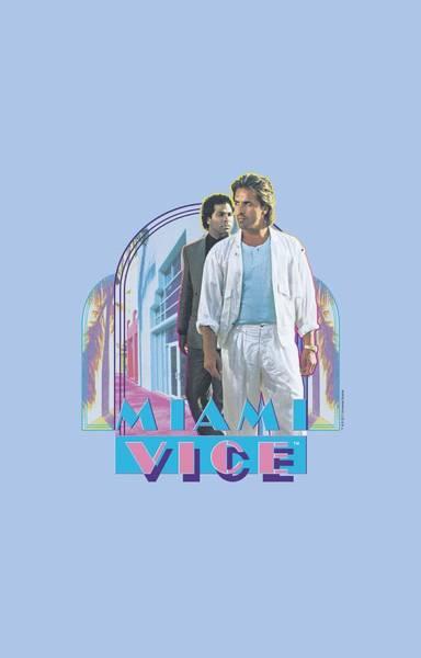 Tv Wall Art - Digital Art - Miami Vice - Miami Heat by Brand A