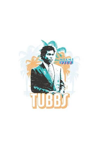 Wall Art - Digital Art - Miami Vice - Tubbs by Brand A