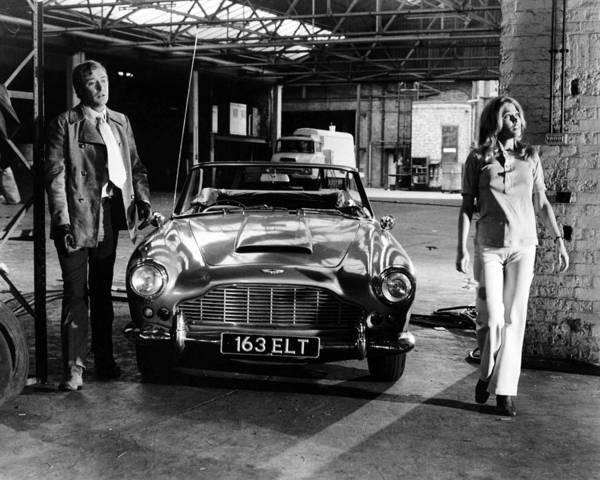 Blye Photograph - Michael Caine In The Italian Job  by Silver Screen