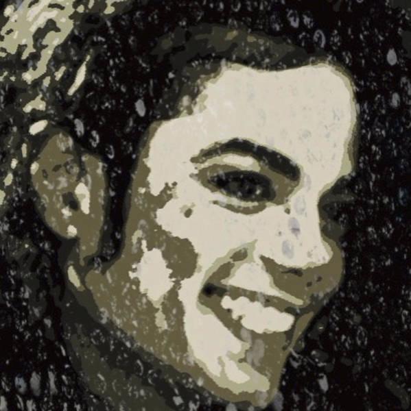 Voices Digital Art - Michael Jackson Concert 3 by Yury Malkov