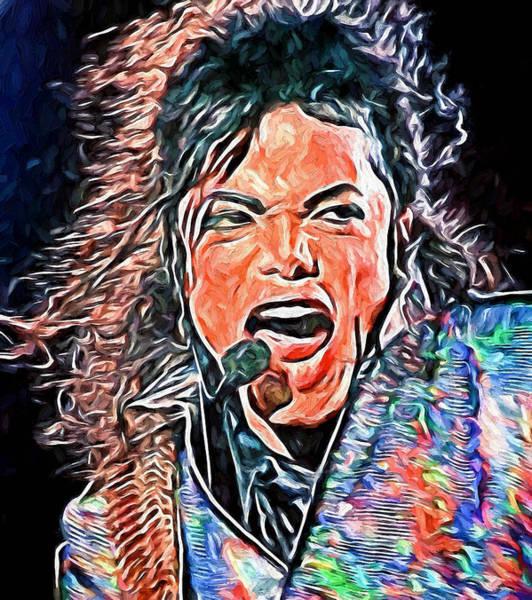 Michael Jackson Photograph - Michael Jackson Live 2 by Yury Malkov