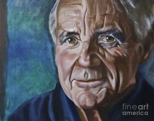 Painting - Michael Palin by James Lavott