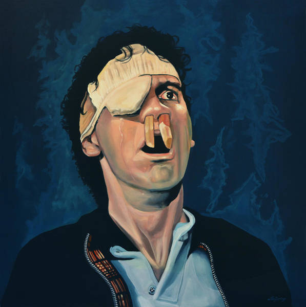 Wall Art - Painting - Michael Palin by Paul Meijering