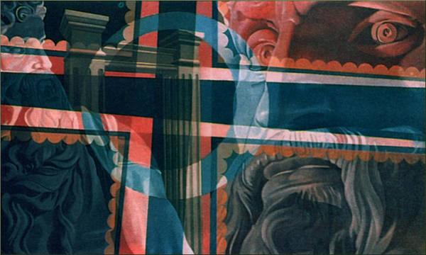 Painting - Michaelangelo's Moses 1967 by Glenn Bautista