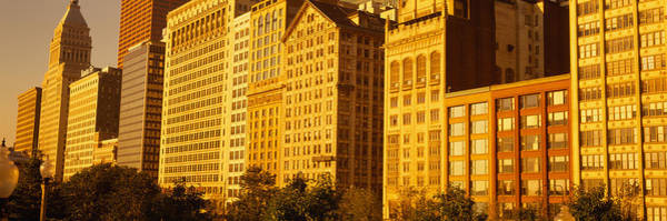 Michigan Ave Photograph - Michigan Avenue Architecture, Chicago by Panoramic Images