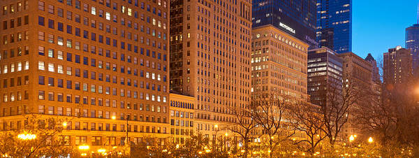 Wall Art - Photograph - Michigan Avenue Buildings by Kevin Eatinger